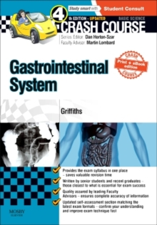 Crash Course Gastrointestinal System Updated Print + eBook edition, Paperback / softback Book