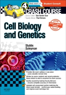 Crash Course Cell Biology and Genetics Updated Print + eBook edition, Paperback Book
