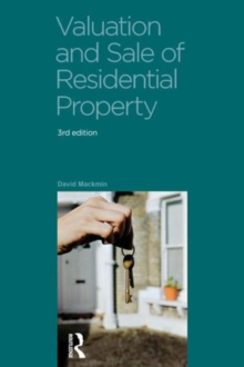 Valuation and Sale of Residential Property, Paperback Book