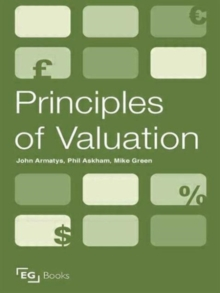 Principles of Valuation, Paperback / softback Book