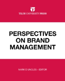 Perspectives on Brand Management, Paperback Book
