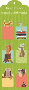 Forest Friends Magnetic Bookmark, Bookmark Book