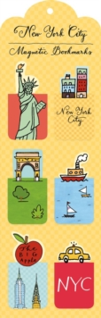 New York City Magnetic Bookmark, Bookmark Book