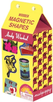 Andy Warhol Wooden Magnetic Shapes, Kit Book
