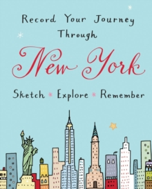 New York City Guided Activity Journal : Activity Journal, Record book Book