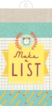 Make a List List Pad, Other printed item Book