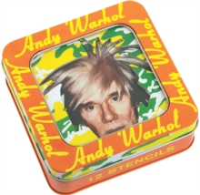 Andy Warhol Stencil Set, Kit Book
