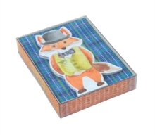 Mr. Fox Die Cut Notecards, Cards Book