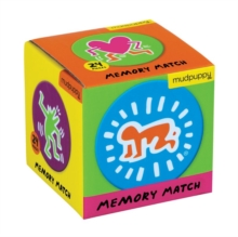 Keith Haring Mini Memory Match Game, Game Book