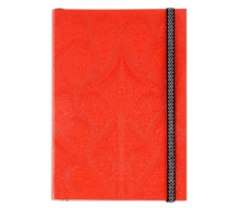 B5 Paseo Embossed Notebook Scarlet, Notebook / blank book Book