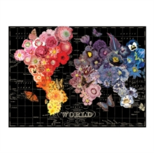 Wendy Gold Full Bloom 1000 Piece Puzzle, Jigsaw Book
