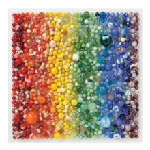 Rainbow Marbles 500 Piece Puzzle, Jigsaw Book