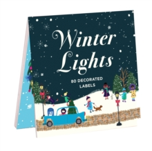 Winter Lights Book Of Labels, Stickers Book