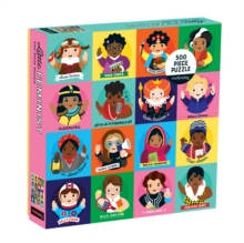 Little Feminist 500 Piece Family Puzzle, Jigsaw Book
