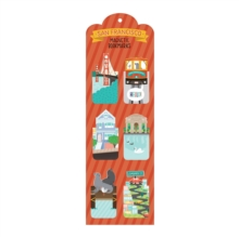 San Francisco Magnetic Bookmarks, Bookmark Book