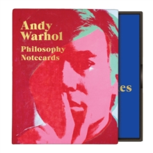 Andy Warhol Philosophy Greeting Assortment Notecards, Cards Book