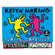 Keith Haring Playing Card Set, Cards Book