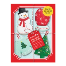 Holiday Cookies Shaped Notecard Portfolio, Cards Book