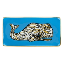 Patch NYC Whale Rectangle Porcelain Tray, Other merchandise Book