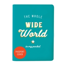 The Whole Wide World Passport Cover, Other merchandise Book