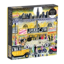 Michael Storrings Jazz Age 1000 Piece Puzzle, Jigsaw Book