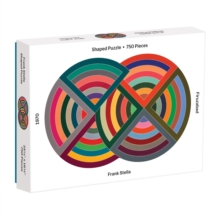 Moma Frank Stella 750 Piece Shaped Puzzle, Jigsaw Book