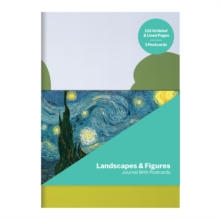 MoMA Landscapes & Figures Journal with Postcard Set, Notebook / blank book Book