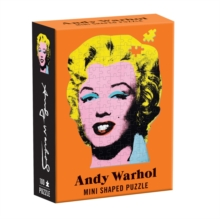 Andy Warhol Mini Shaped Puzzle Marilyn, Jigsaw Book