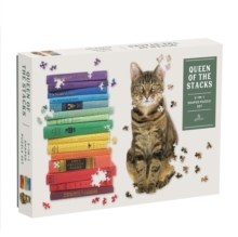 Queen of the Stacks 2-in-1 Puzzle Set, Jigsaw Book