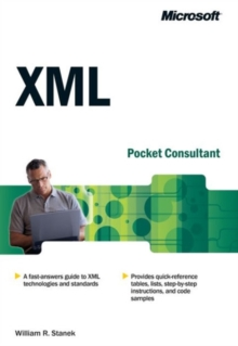 XML Web Developer's Pocket Consultant, Paperback Book