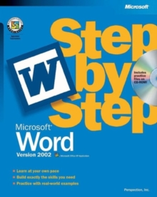 Microsoft Word Version 2002 Step by Step, Mixed media product Book