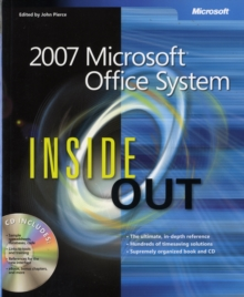 The 2007 Microsoft Office System Inside Out, Mixed media product Book