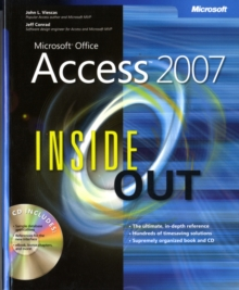 Microsoft Office Access 2007 Inside Out, Mixed media product Book