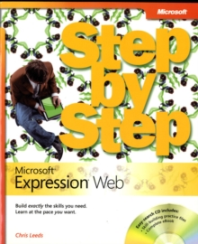 Microsoft Expression Web Step by Step, Mixed media product Book