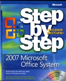 2007 Microsoft Office System Step by Step, Mixed media product Book