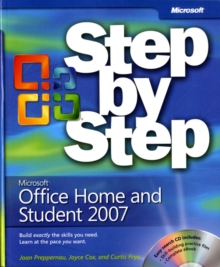 Microsoft Office Home and Student 2007 Step by Step, Mixed media product Book