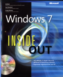 Windows 7 Inside Out, Mixed media product Book