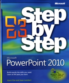 Microsoft PowerPoint 2010 Step by Step, Paperback Book