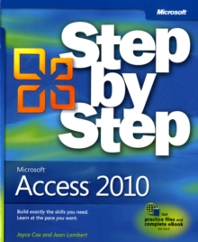 Microsoft Access 2010 Step by Step, Paperback Book