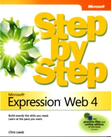 Microsoft Expression Web 4 Step by Step, Paperback Book