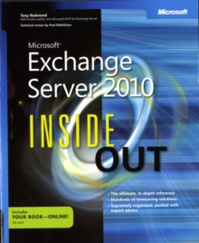 Microsoft Exchange Server 2010 Inside Out, Paperback Book