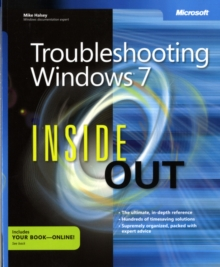 Troubleshooting Windows 7 Inside Out, Paperback / softback Book