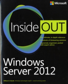 Windows Server 2012 Inside Out, Paperback / softback Book