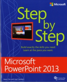 Microsoft Access 2013 Step by Step, Paperback / softback Book