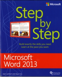 Microsoft Word 2013 Step by Step, Paperback Book