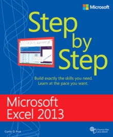 Microsoft Excel 2013 Step By Step, Paperback Book