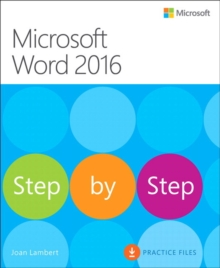 Microsoft Word 2016 Step By Step, Paperback Book