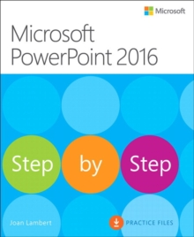 Microsoft PowerPoint 2016 Step by Step, Paperback / softback Book