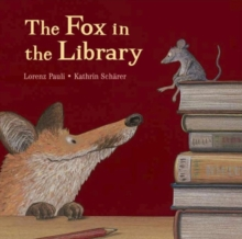 Fox in the Library, Hardback Book