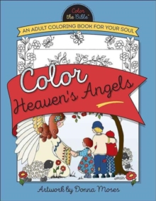 COLOR HEAVENS ANGELS, Paperback Book